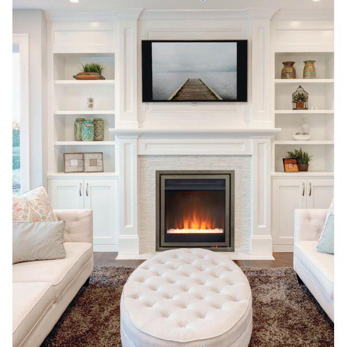 Electric fireplace in master bedroom bedroom design ideas for Electric wall fireplace bedroom