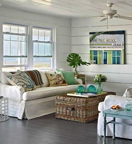 Coastal Cottage Decorating Decor Beach House Living By The Sea Décor Nautical Feel