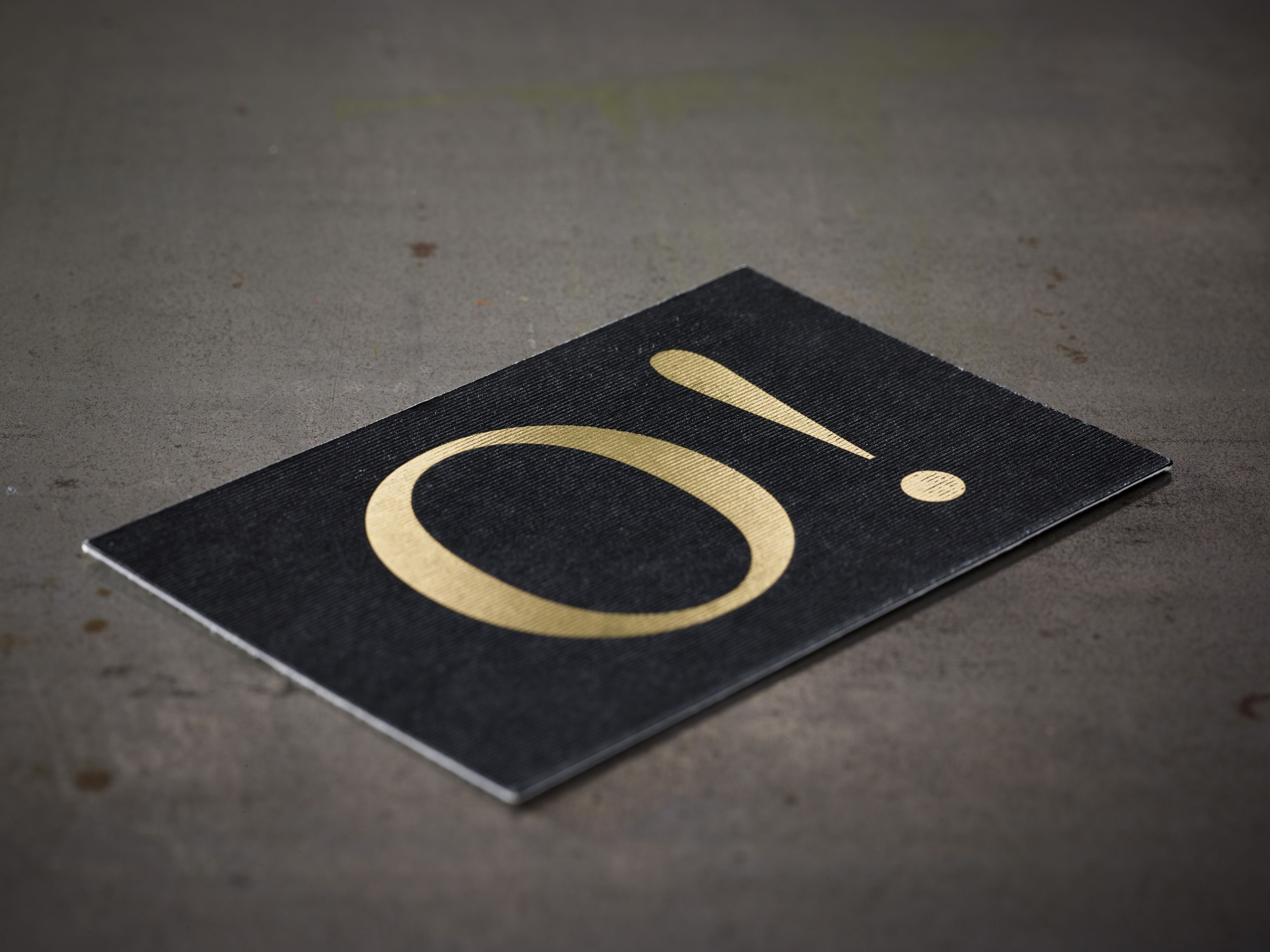 oooo beautiful business cards letterpress and hotfoil gold