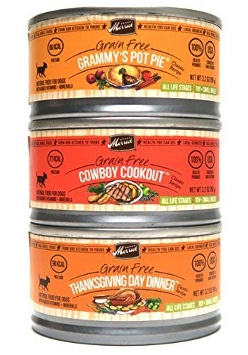 Merrick Grain Free Canned Dog Food Variety Bundle 3 Flavors