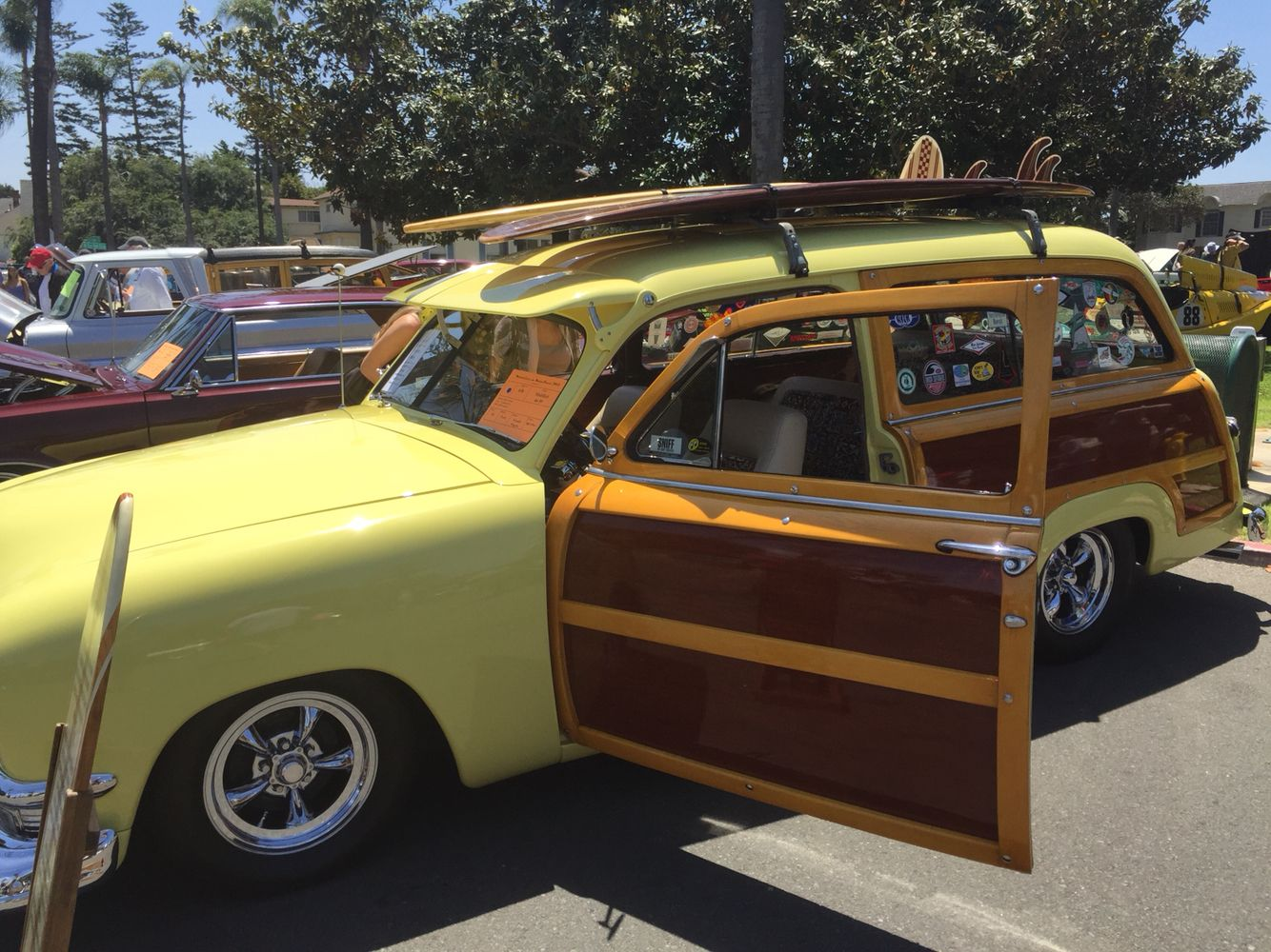 Classic Car Show Coronado Ca! | Woodie Cars Beaches! | Pinterest ...