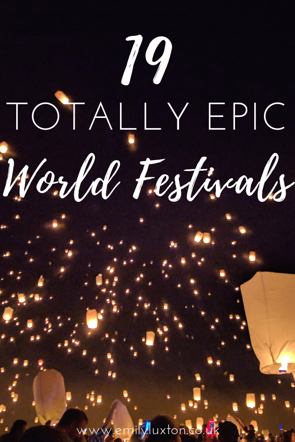 19 of the best festivals around the world to help you map out your 2019 travels. Find food culture music and more at these 19 epic world festivals |  #festivals #deeptravel #style #shopping #styles #outfit #pretty #girl #girls #beauty #beautiful #me #cute #stylish #photooftheday #swag #dress #shoes #diy #design #fashion #Travel