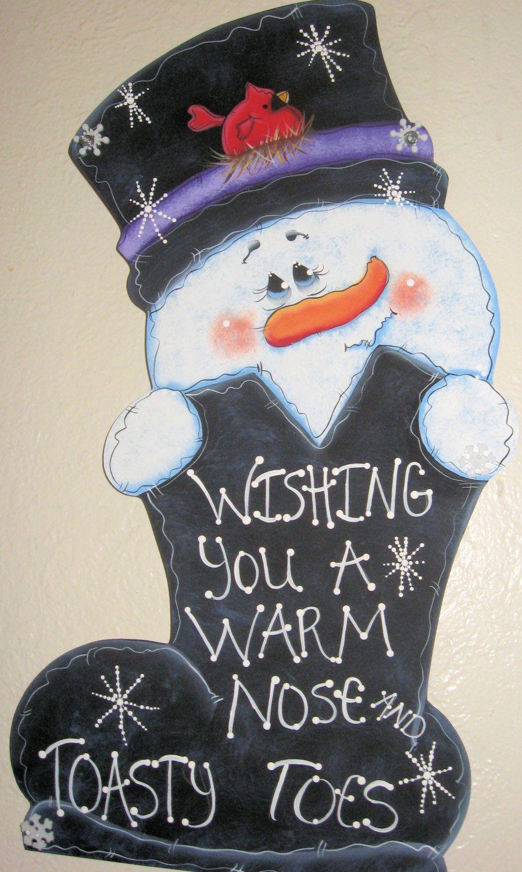 Painted snowman door decortrendy door decoratrsy fartsy decor