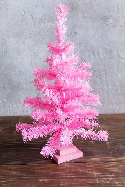 light pink mini tree