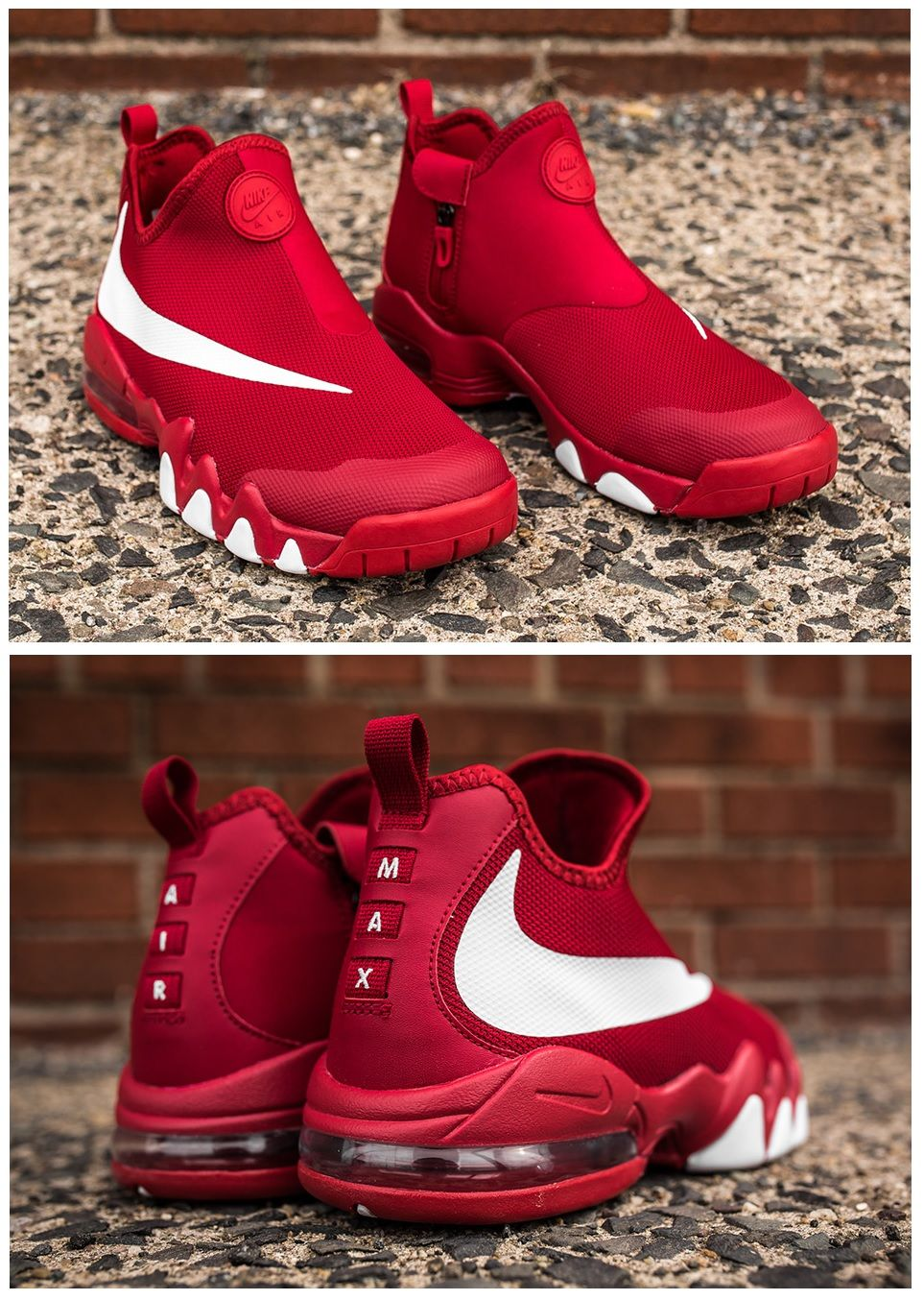 43bf174af124 Nike Big Swoosh Charles Barkley  University Red. Find this Pin and more on  Shoes ...