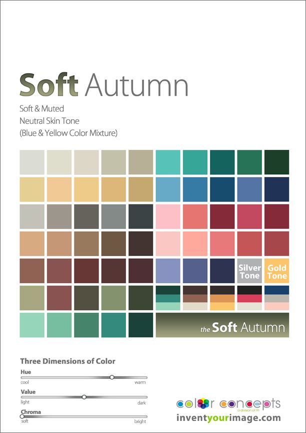 Colors for a Soft Autumn Man www.inventyourimage.com