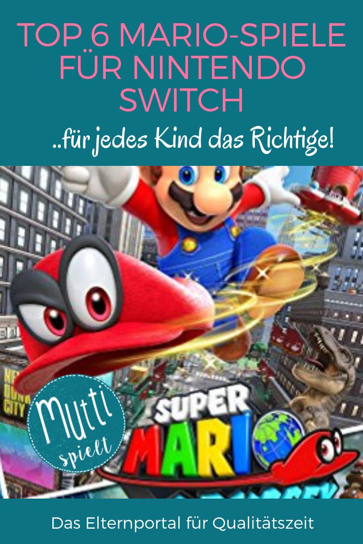 Top 6 Mario Spiele Fur Nintendo Switch Hier Ist Fur Jedes Kind Das Richtige Dabei Kinder Spiele Nintendo Switch Mario Spiele Nintendo Switch Nintendo