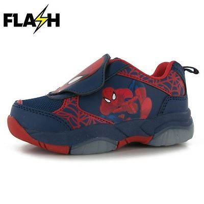 Character Childrens Light Up Infants Sneakers Running Shoes Trainers Boys