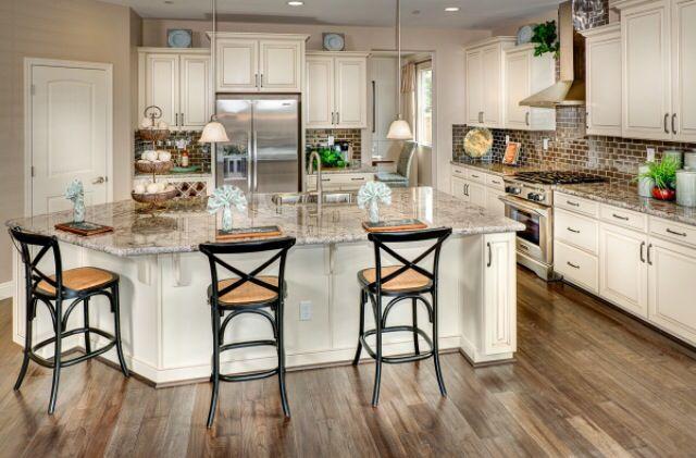 kb homes elegant yet affordable small kitchen layout homekb homes elegant yet affordable