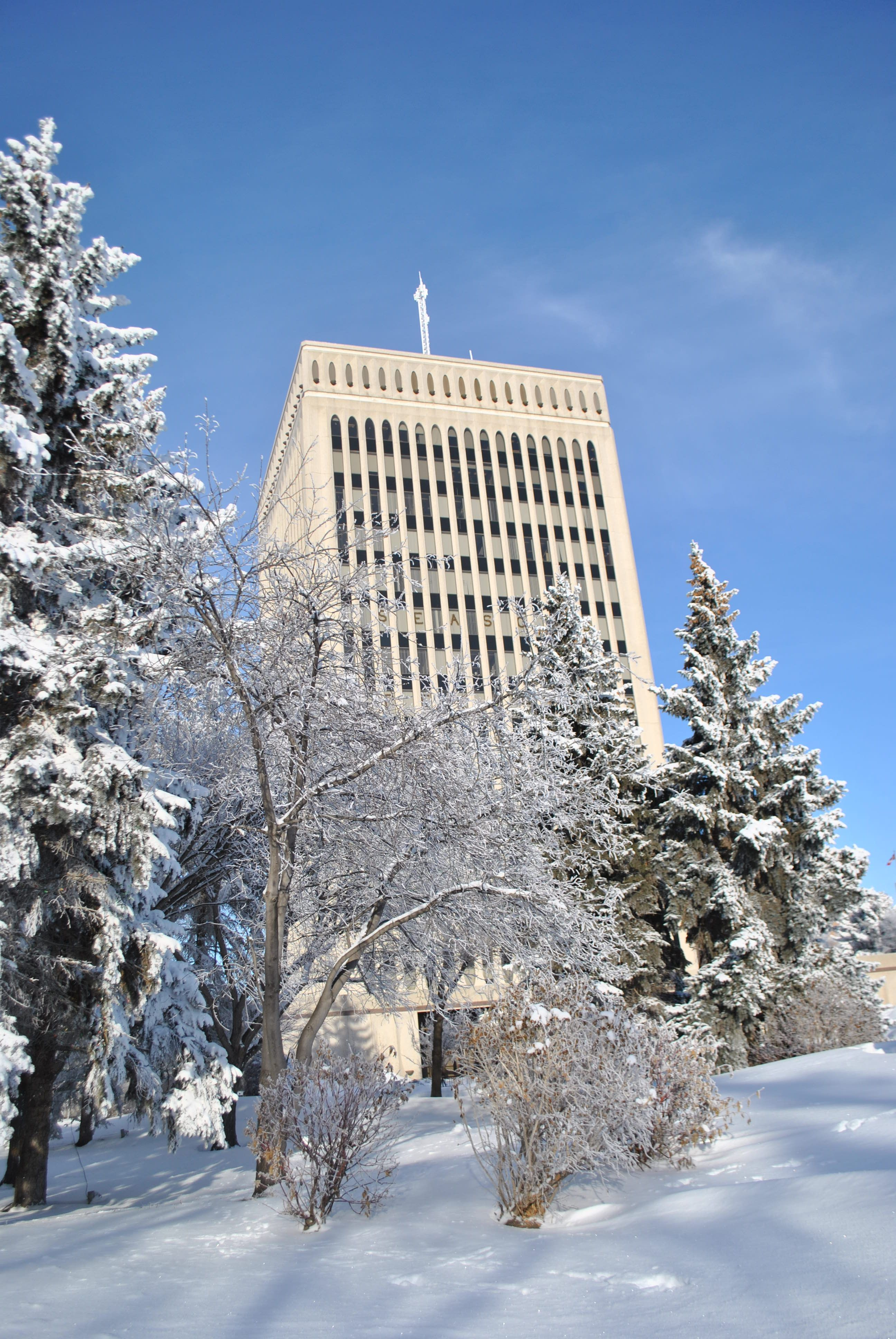 The City of Regina is ready to take on Mother Nature-  as winter draws near, City crews are working hard to keep our roads safe and clear for residents. Visit www.regina.ca for the City's snow plan, detailing our priority road clearing system and up-to-date snow clearing information. #yqr #cityofregina