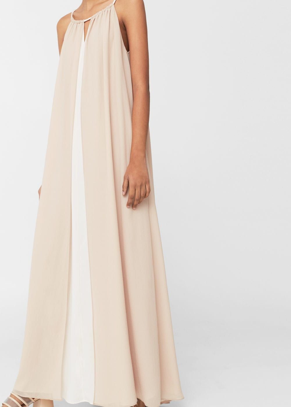 Doublelayer gown layering gowns and woman