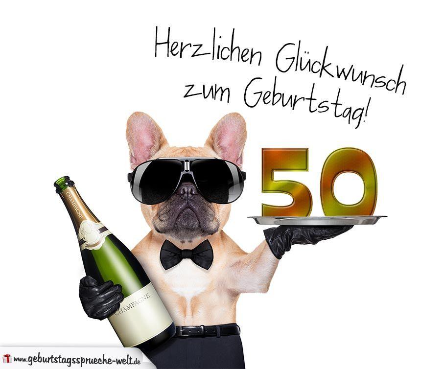 Www Geburtstagsgrusse Zum 50 Luxury Gluckwunschkarte Mit Hund Zum