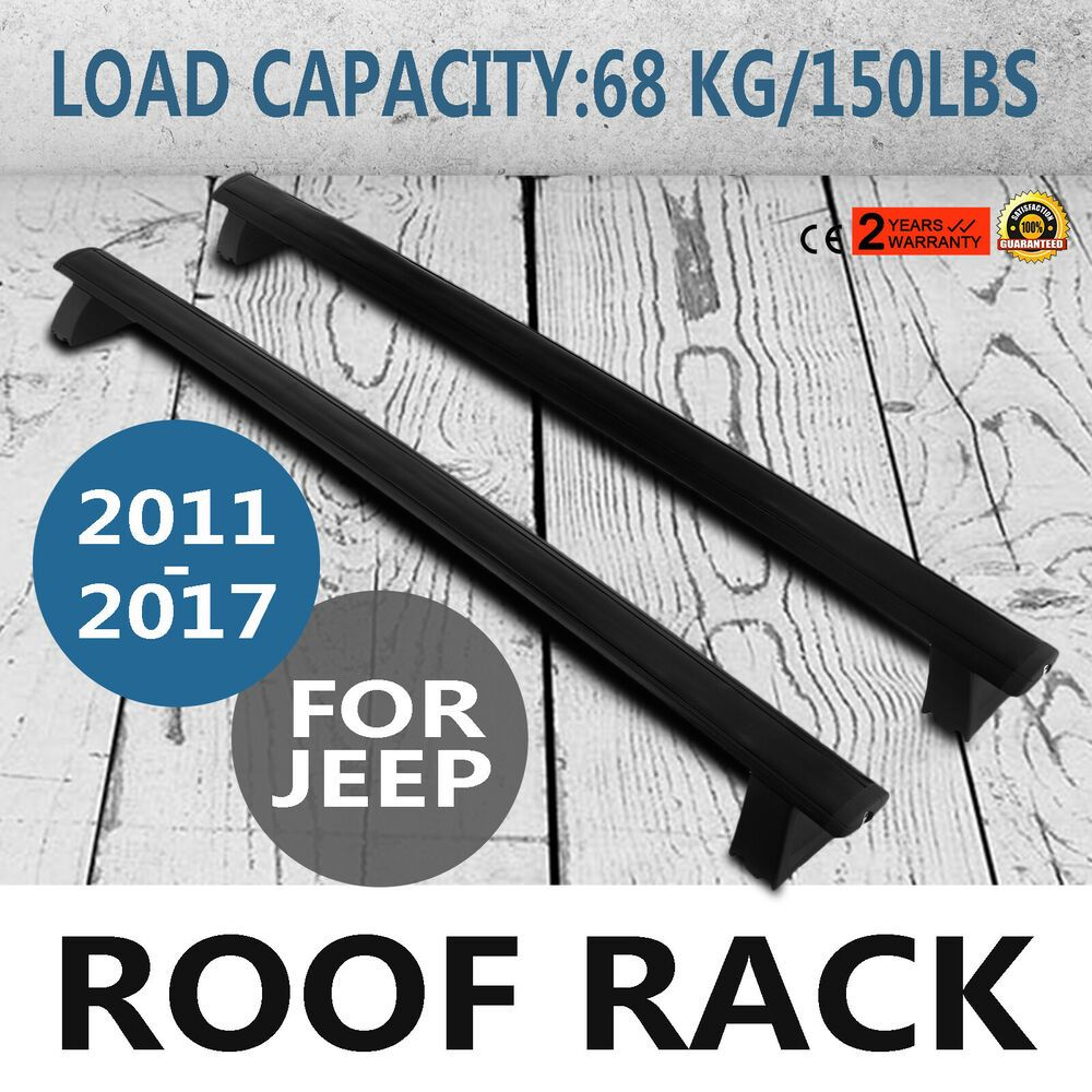 Ebay Sponsored 2011 2017 Jeep Grand Cherokee Pair Roof Luggage Rack Side Rails Bars Oem Lkq With Images Luggage Carrier Jeep Grand Jeep Grand Cherokee
