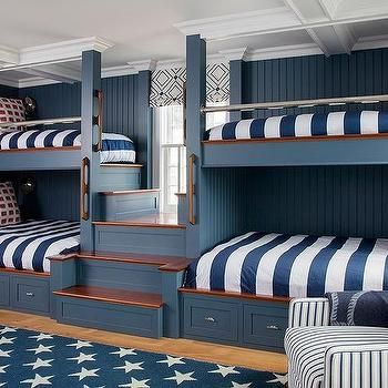 Bedroom Design Decor Photos Pictures Ideas Inspiration Paint Colors And Remodel Bunk Beds Built In Built In Bunks Bunk Beds For Boys Room