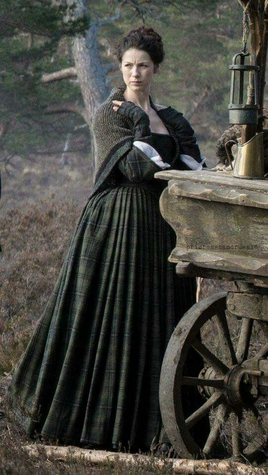 As Claire at Lallybroch