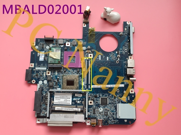 44.00$  Buy now - http://ali5an.shopchina.info/1/go.php?t=32595126881 - For Acer Aspire 5315 5715 5720 Laptop Motherboard MBALD02001 ICL50 LA-3551P GL960 DDR2 44.00$ #magazineonlinewebsite