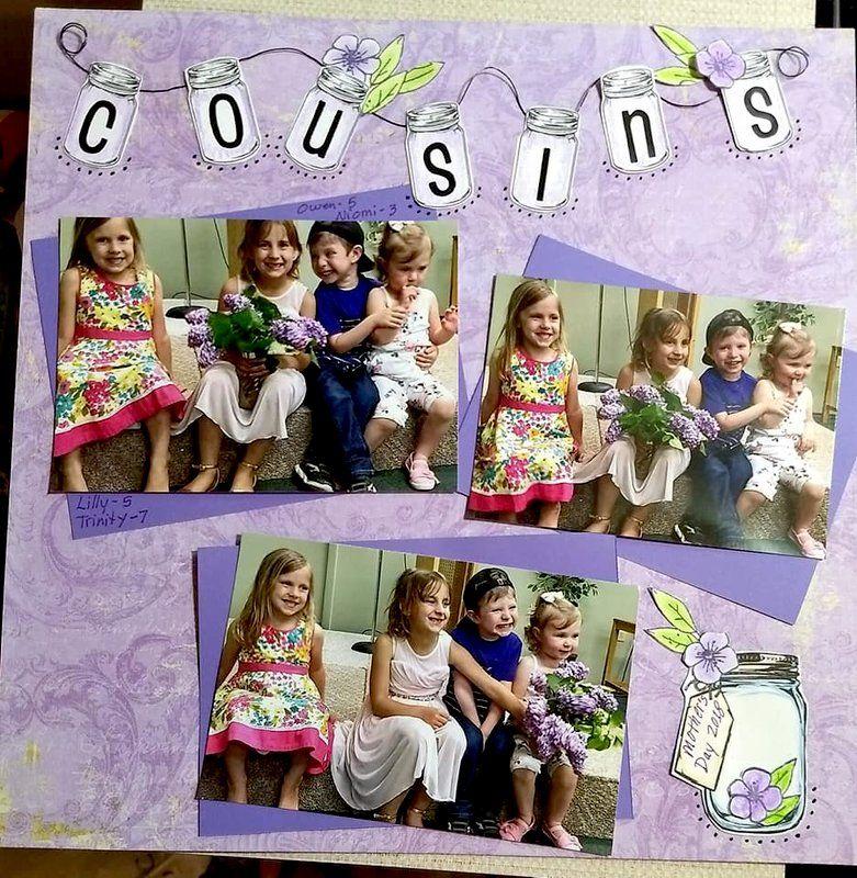 Cousins Cousins - Scrapbook.com