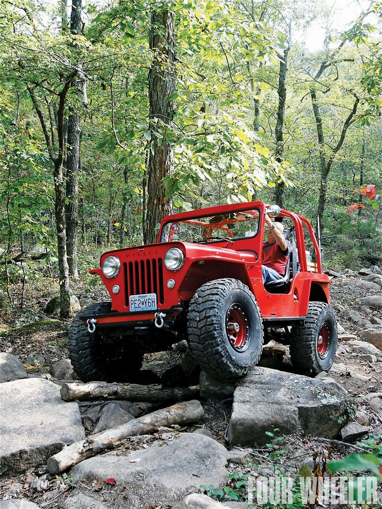 1953 Willys Cj3b Check out the fender modification on this Jeep!  Wonder why the original engineers did think of this when designing the 3B?