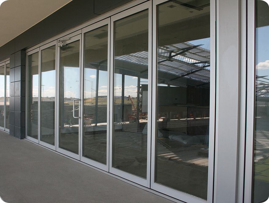 awesome folding glass walls #7: Company that makes thermal insulated polycarbonate folding doors. Glass  WallsGlass ...