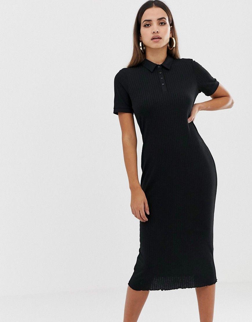 polo shirt dress midi