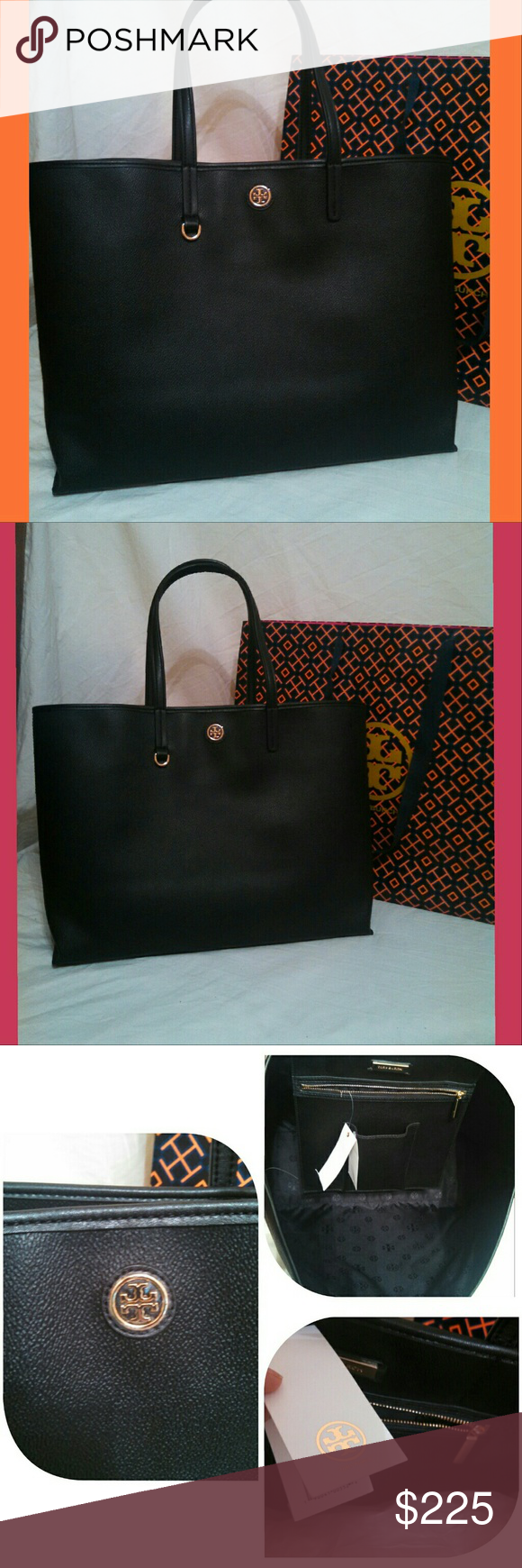 bc61b568b76 Great tote for every wardrobe. 16x12x6. Bundle and save. Happy Poshing.  Tory Burch Bags Totes