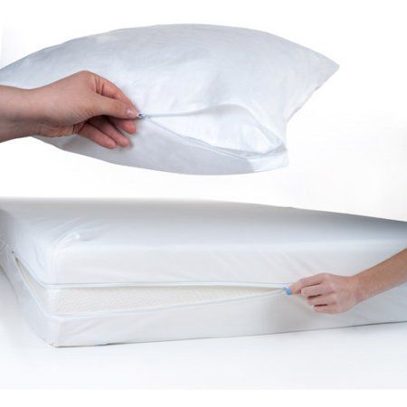 Everyday Home 2Piece Bed Bug and Dust Mite Mattress and Pillow
