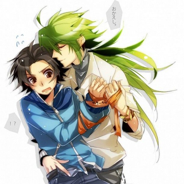 Touya x N (Pokemon)  Still... O.O I guess this is more popular than I thought...