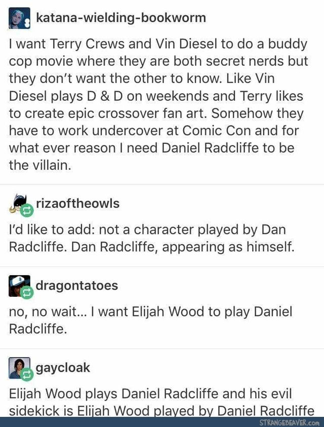 Tumblr Tuesday 6-6 | Headcanons | Tumblr funny, Funny images, Funny
