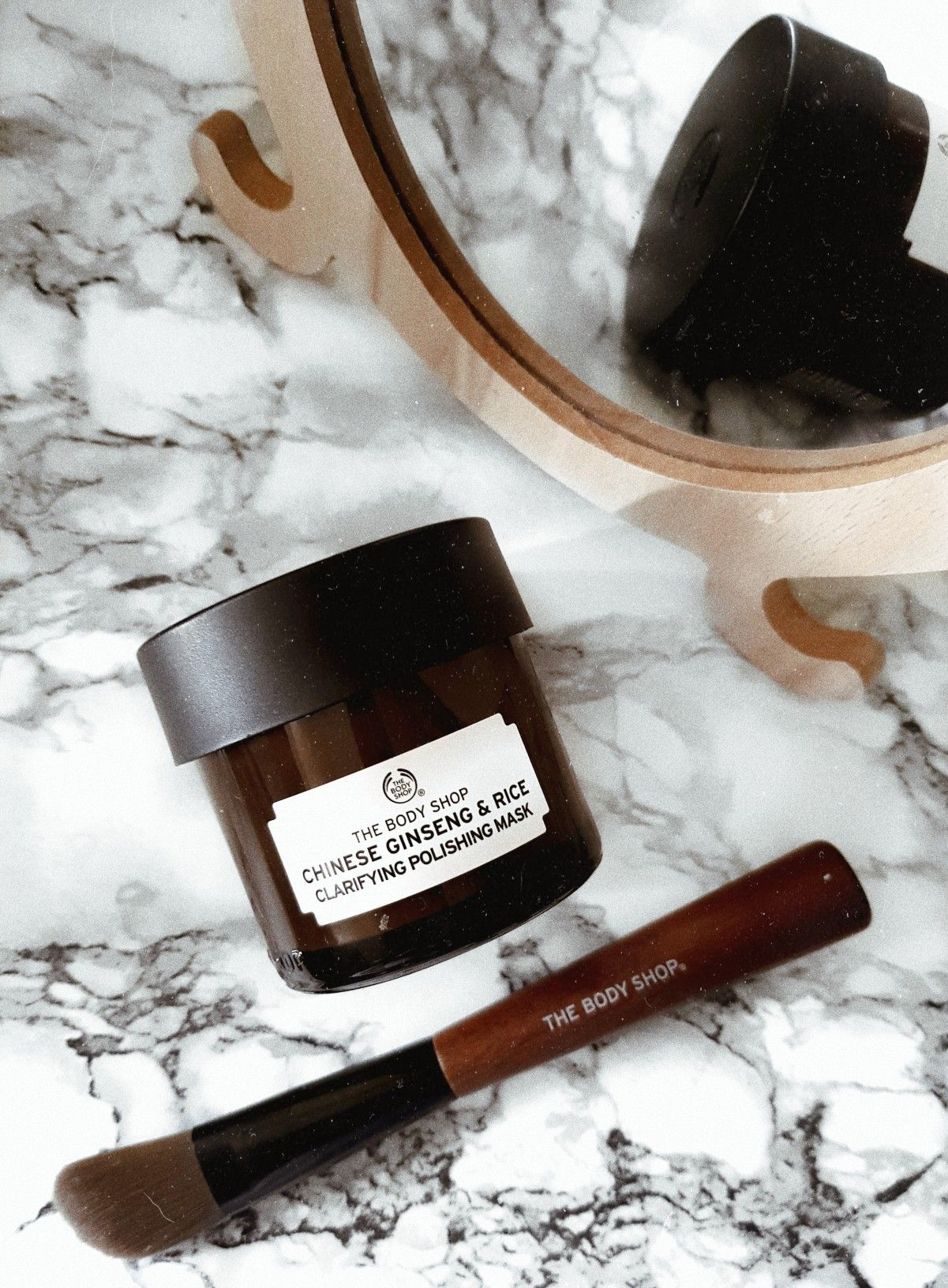 Chinese Ginseng and rice face mask, The Body Shop The
