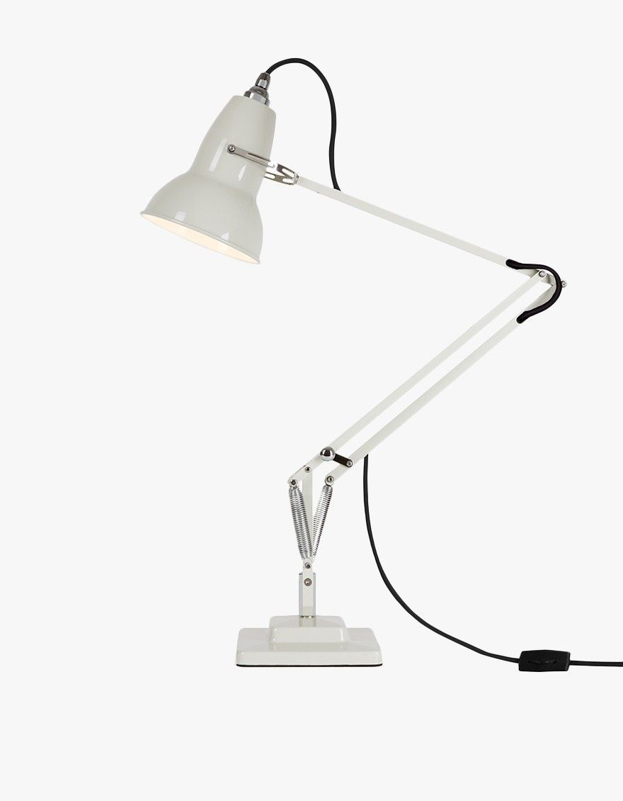 Original 1227 Desk Lamp In Linen White With Images Desk Lamp Anglepoise Lamp