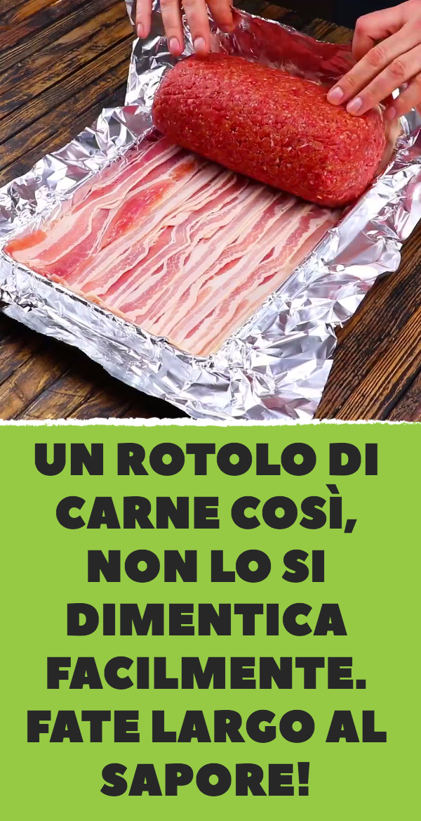 Photo of A roll of meat like this is not easily forgotten. Fat …