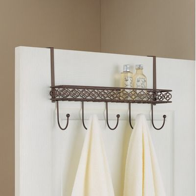 OIA Neu Home Morocco Overdoor Organizing Hooks With Tray