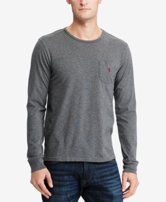 d470d3e194d9 POLO RALPH LAUREN Polo Ralph Lauren Men S Custom Slim Fit Long-Sleeve T- Shirt.  poloralphlauren  cloth  shirts