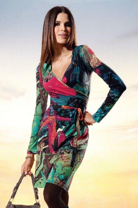 Heine Forest Print Dress