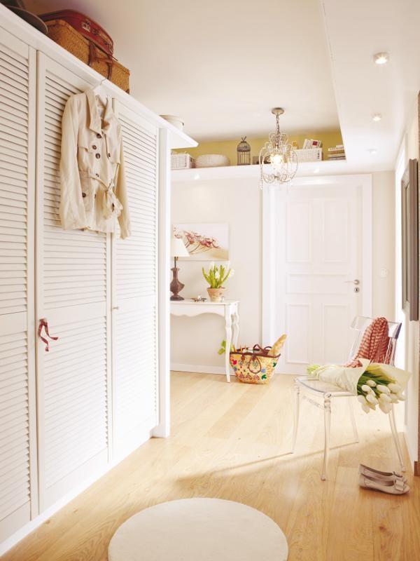 Ablage unter der Decke - tolle Idee für mehr Stauraum Wohnen und - flur idee