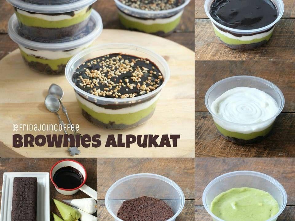 Resep Brownies Alpukat Browniesalpukat Oleh Fridajoincoffee Resep Resep Makanan Resep Makanan Penutup