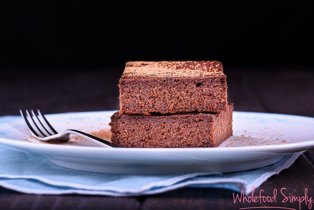Chocolate brownie wholefood simply whole foods cake
