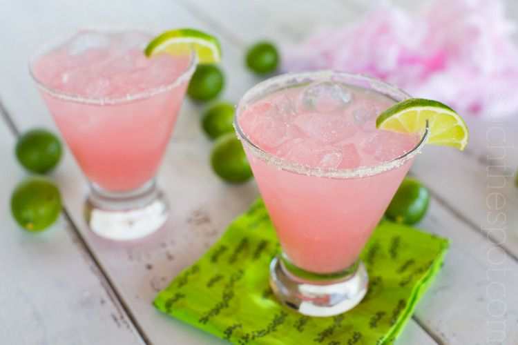 Cotton candy margaritas