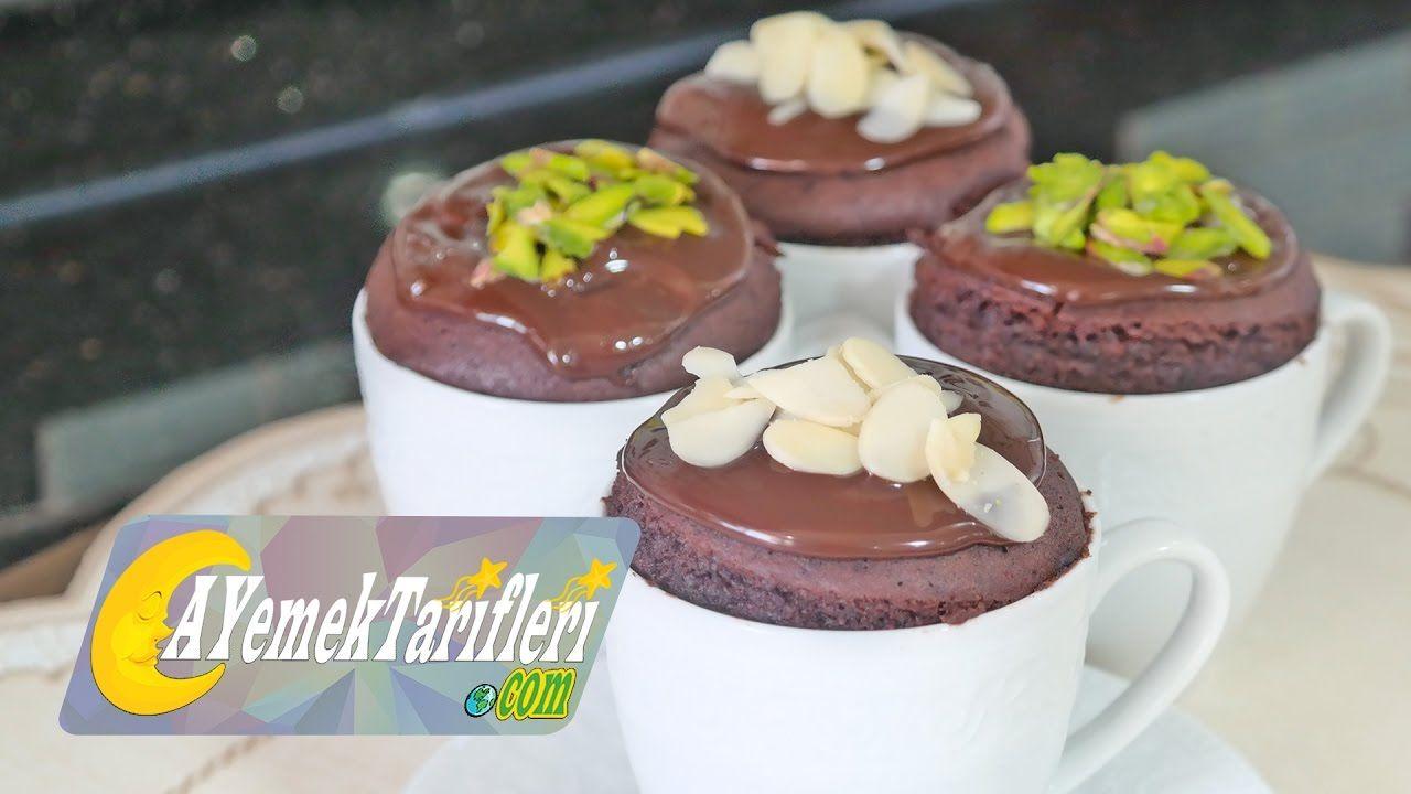 Çikolata Dolgulu Fincan Tatlısı Tarifi Videosu