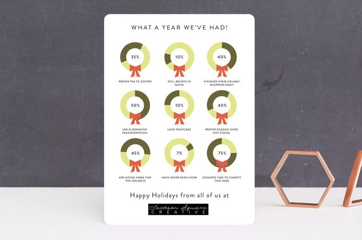 Numbered wreaths business holiday cards by becca t minted numbered wreaths business holiday cards by becca t minted colourmoves
