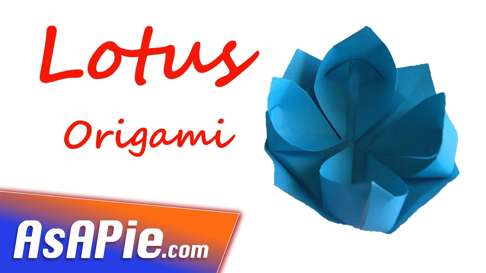 Easy Origami Flower How To Make Origami Flowers Origami Lotus