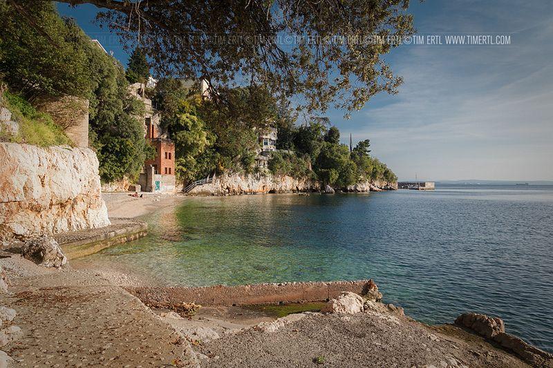 Pecine Beach Rijeka Croatia Beach Croatia Travel Rijeka