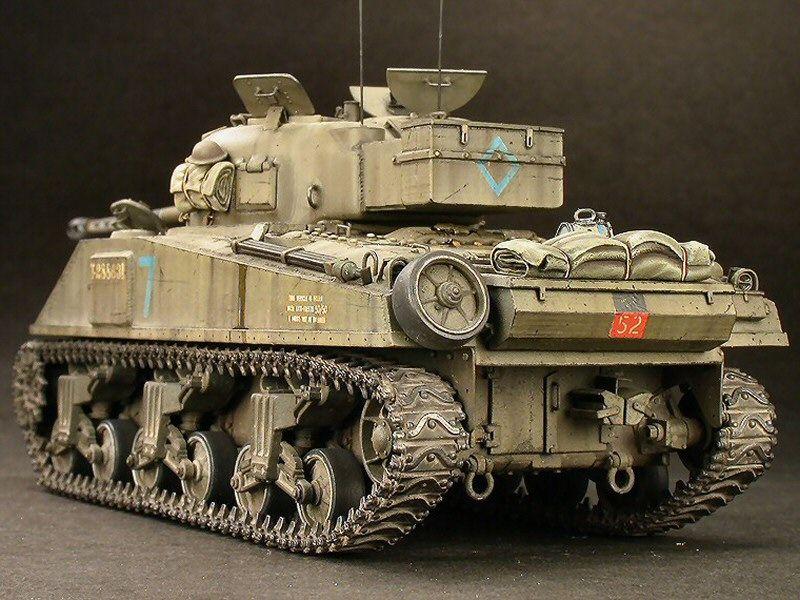 Allied M4A1 Sherman Tank von PSC 9e19dd28a1ef9d68d53ef63951c4f13d