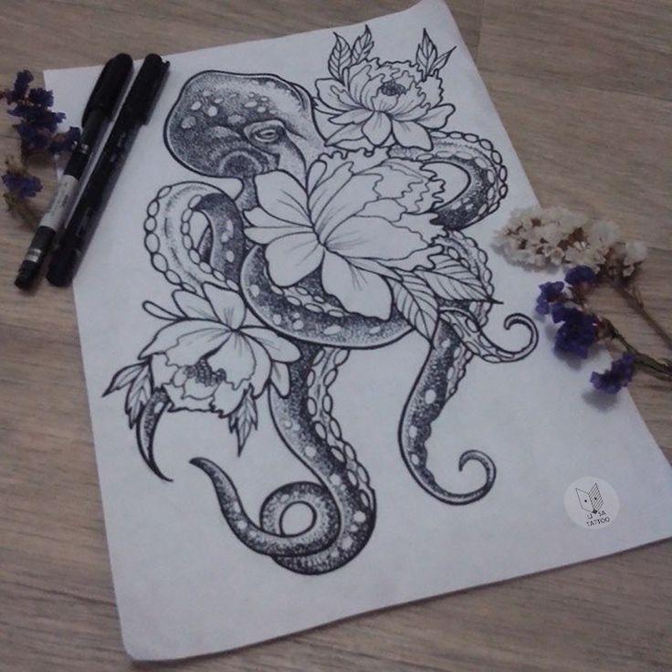 Photo of – Stylekleidung.com – #octopustattoohttps: //tattooideen.stylekleidung.com/2919 …