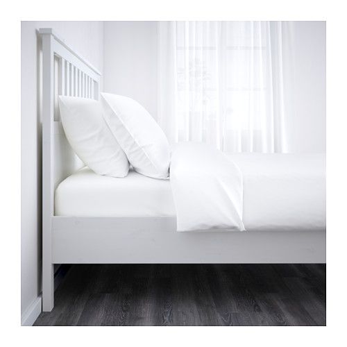 Hemnes Agykeret Feherre Pacolt Leirsund 140x200 Cm Ikea Adjustable Beds Bed Frame Hemnes Bed