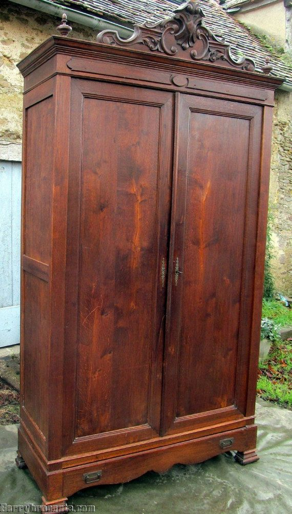Antique French Normandy Armoire Wardrobe By BerryBrocante On Etsy