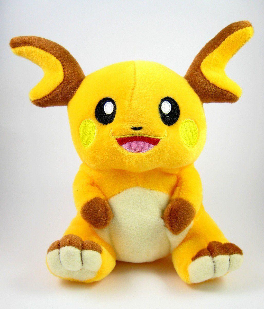 Inspiration for face Pokemon Plush Raichu