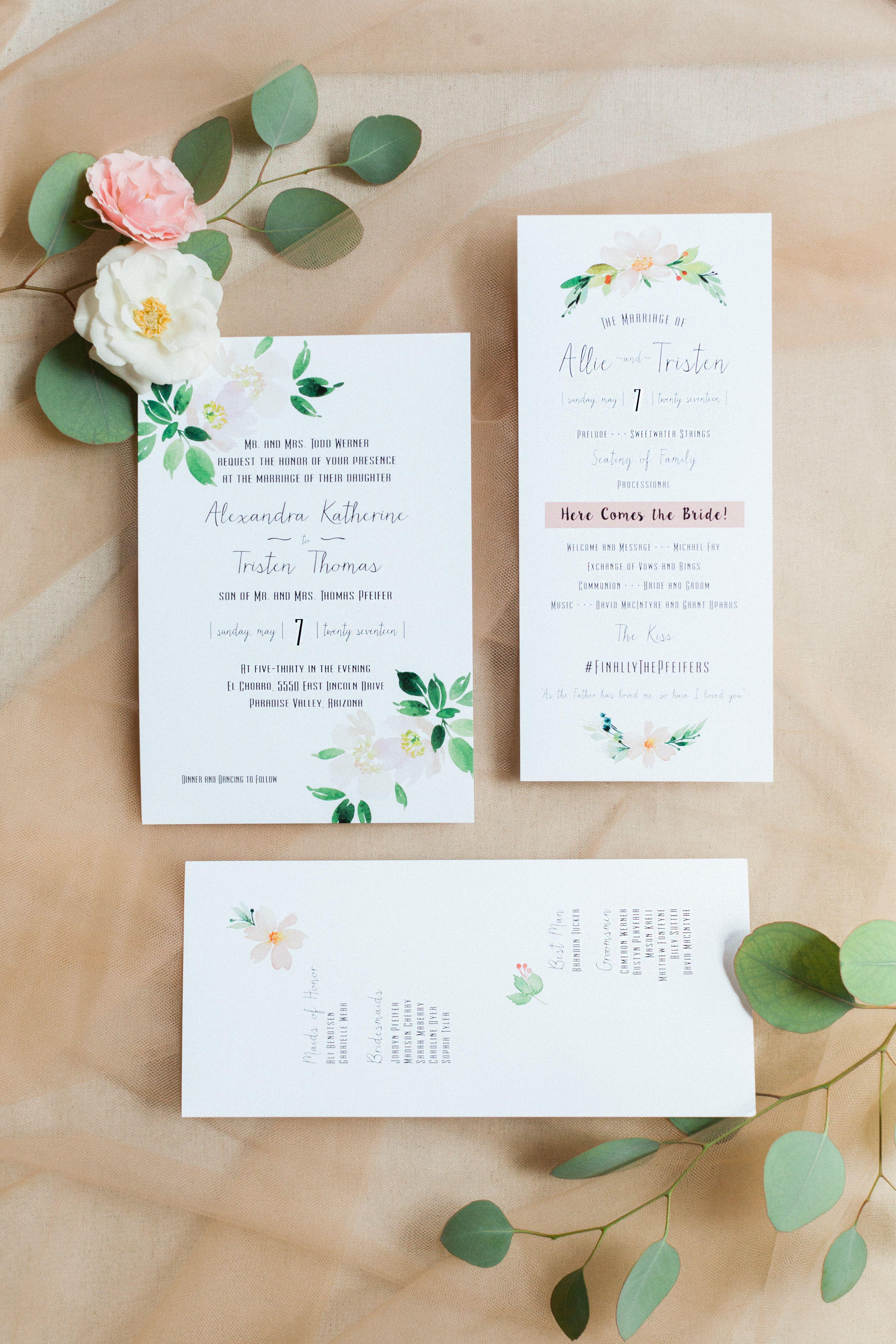 Revel wedding co pinkerton photography wedding invitations