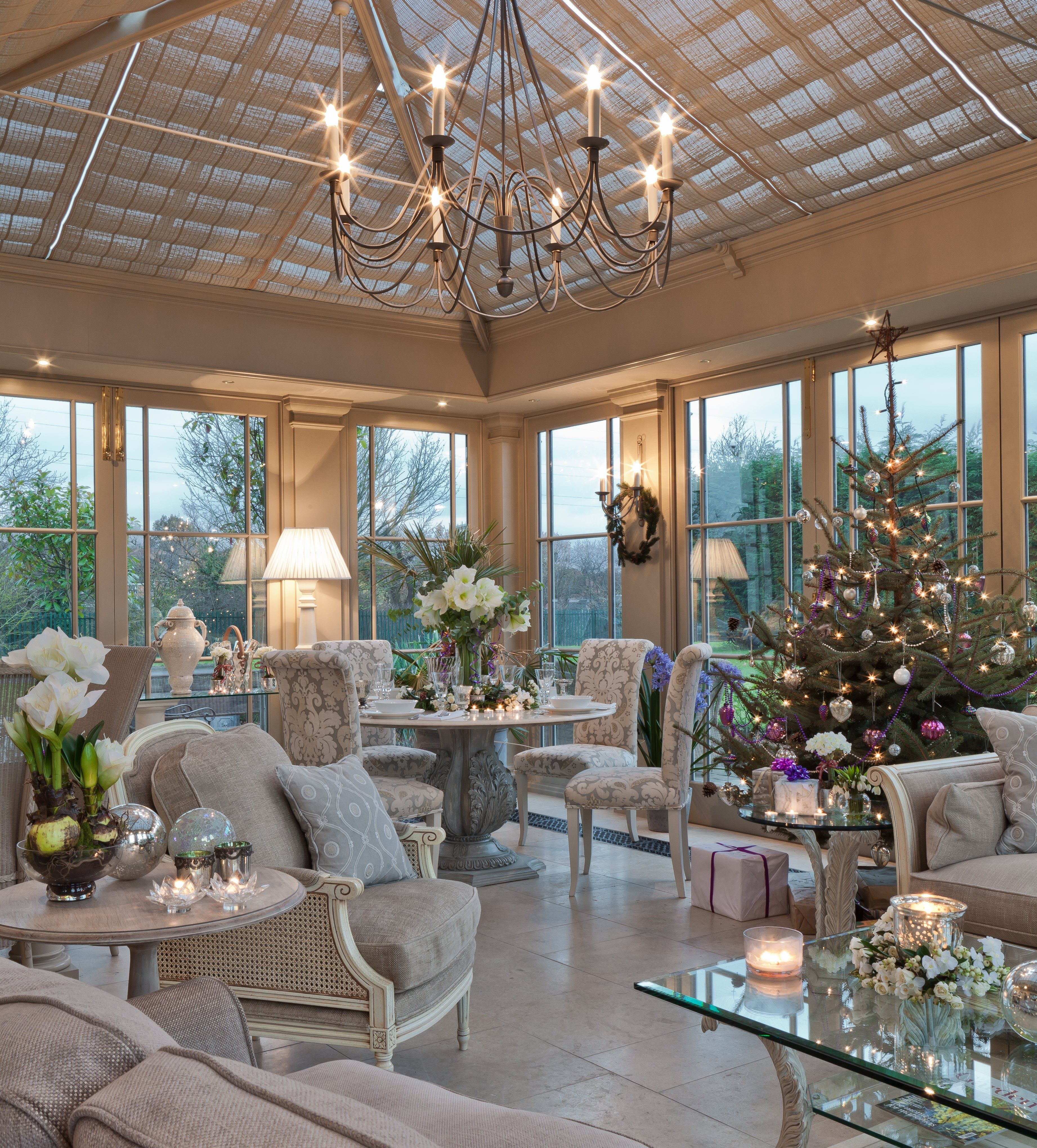13 Best Images About Beautiful Interiors: Christmas Conservatory