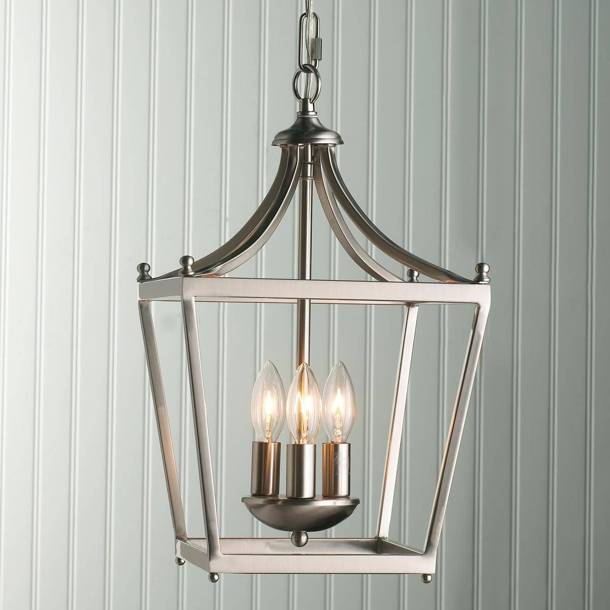 kitchen lantern lights A Pair of these over a kitchen table or island would be cute Get the
